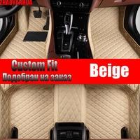 Car Floor Mats for suzuki sx4 s cross astra k ssangyong tivoli mg zs Accessories Waterproof leather Car Carpet Liner Floor Mats