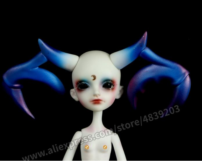 1/4 DC bjd  doll   Diana   animal version body and human body high quality products-in Dolls from Toys & Hobbies    1