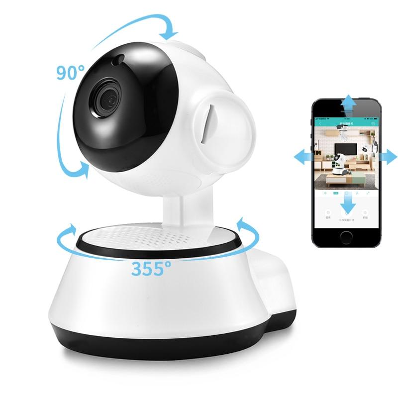 BESDER Home Security IP Camera Wireless Smart WiFi Camera WI-FI Audio Record Surveillance Baby Monitor HD Mini CCTV Camera iCSee
