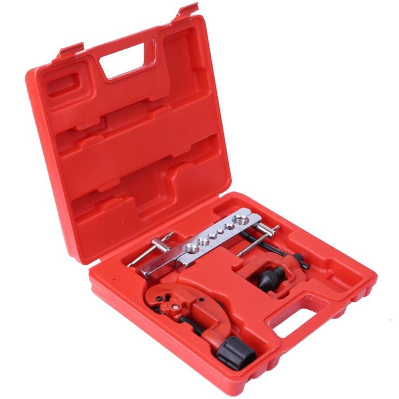 3 piezas 9 piezas tubo de cobre escariador expansor dictador refrigerador de aire acondicionado herramientas de reparación Kit quema Set herramienta de expansión