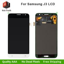 Pantalla LCD de Pantalla Para Samsung J3 J320 J320M J320P J320Y J320F Touch Screen Reemplazo Digitalizador Asamblea con El Envío Libre