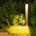 BEIAIDI наружная светодиодная Ландшафтная лампа для лужайки  водонепроницаемая лампа для виллы  парка  двора  прохода  коридора  столба  алюмин...