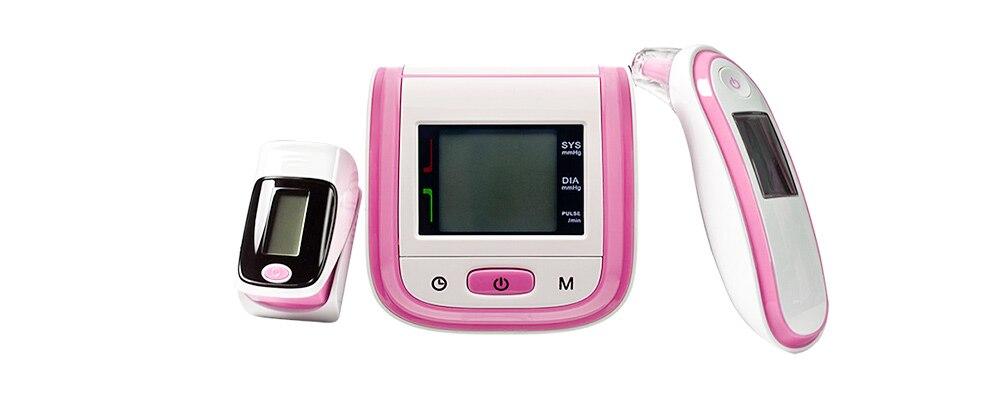 monitor de pressão arterial da orelha termômetro