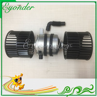 24V A/C air con conditioning Fan Double Blower Motor Unit for Komatsu HD465 SK200 8 Kobelco Excavator AN51500 10770 AN5150010770