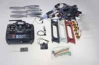 F550 Drone FlameWheel Kit With KK 2.3 HY ESC Motor Carbon Fiber Propellers + RadioLink 6CH TX RX F05114 S