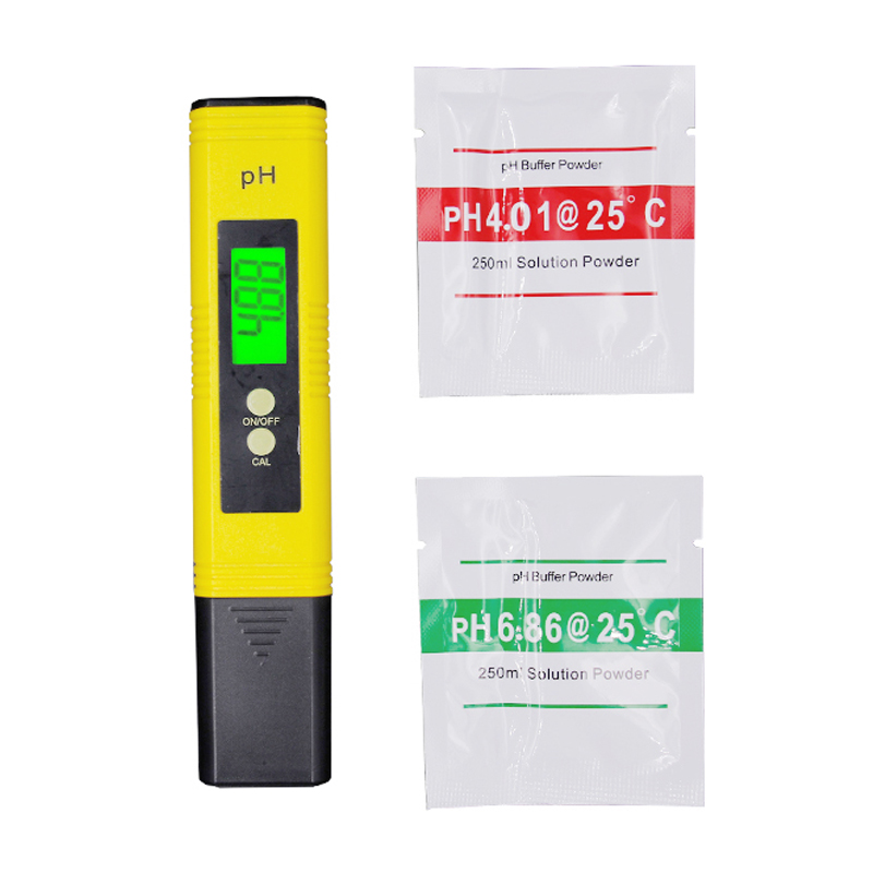 by dhl/fedex 100pcs/lot Digital LCD backlight pH Meter Water Quality Monitor Tester ph Tester Acidometer for Aquarium 30%off