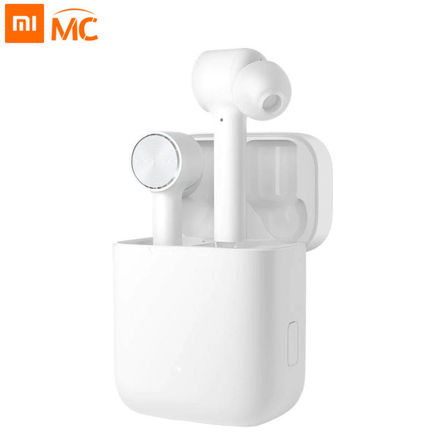 Xiaomi Air TWS Bluetooth Headset True Wireless Stereo Sport Earphone ANC Switch ENC Auto Pause Control xiaomi Airdots pro