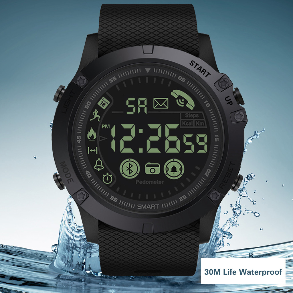 Smart-Watch Round-Screen GPS Call-Photo Positioning iPhone Waterproof Outdoor Android