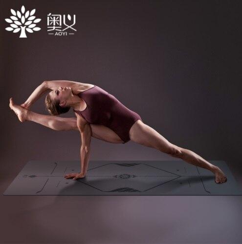 Nouveau 5mm Caoutchouc Naturel Santé Tapis De Yoga Hommes Femmes Fitness Matelas Garder la Forme Pad Cusion Exercice Perdre Du Poids Non tapis de Yoga anti-dérapant