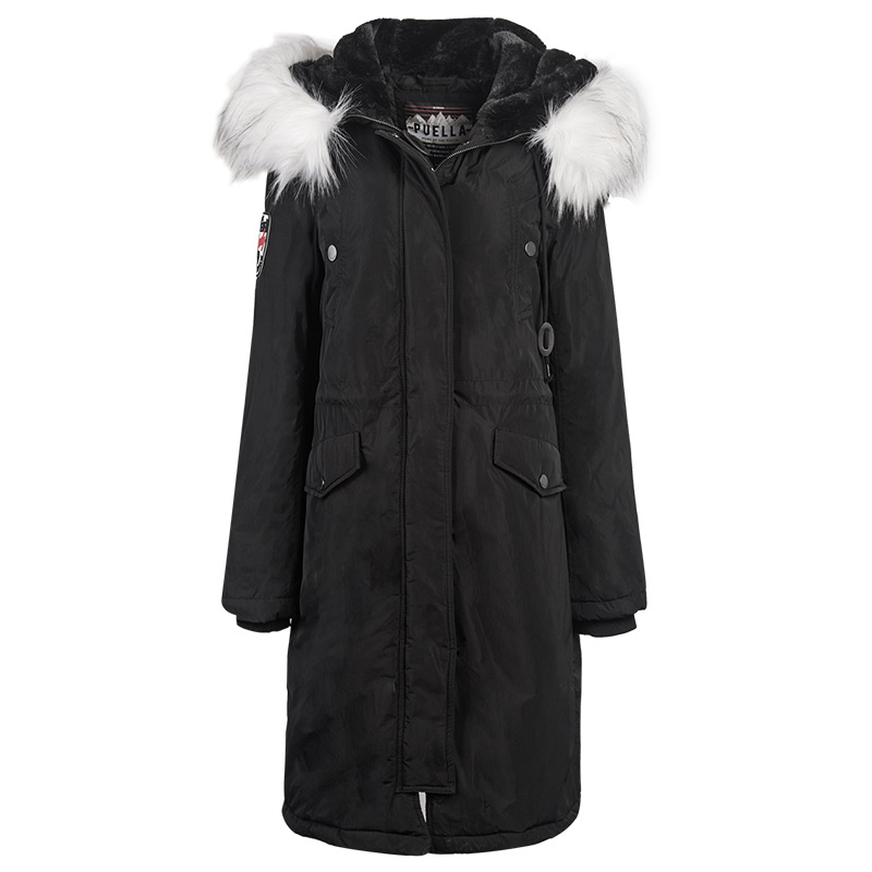 Dames D'hiver Femmes Fourrure Ouatée Nouveau Capuchon Manteaux Long À Black Mode Manteau Parka Vêtements Col Veste Grand 287 Moyen De Mince gray 2W9EHDI