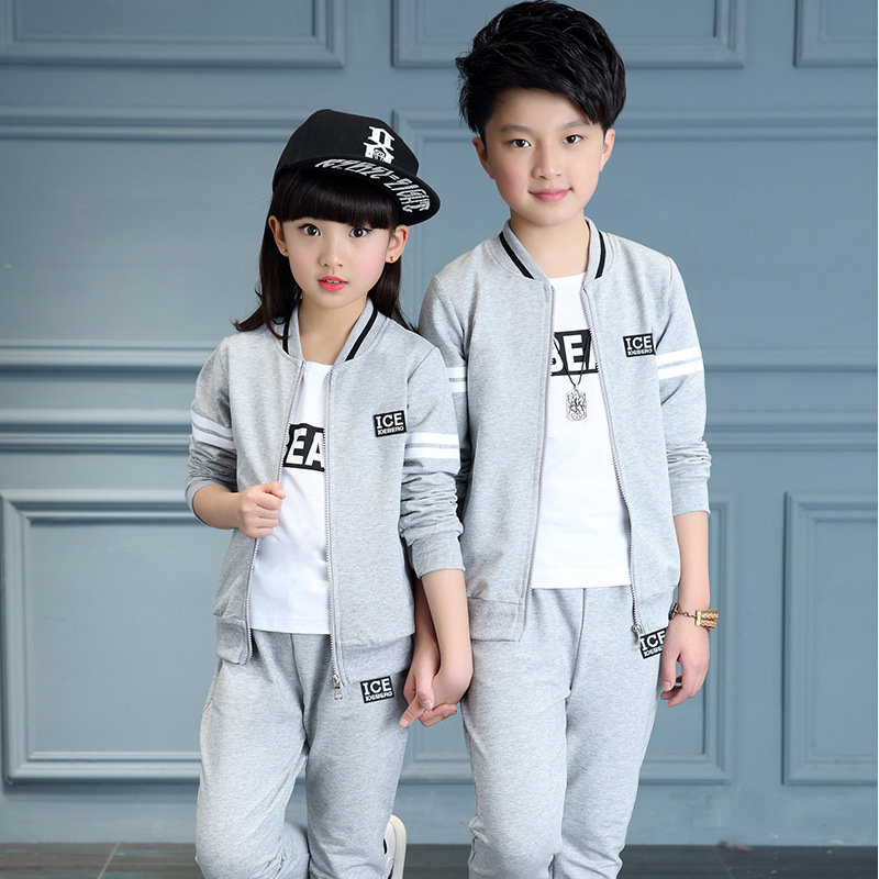 04af0fe752778 US $19.66 30% OFF|Children Clothing Sets Boys Sports Suits Autumn Baseball  Collar Kids Tracksuits Teens Sportswear Kids Clothes Boys 2pcs Suit -in ...