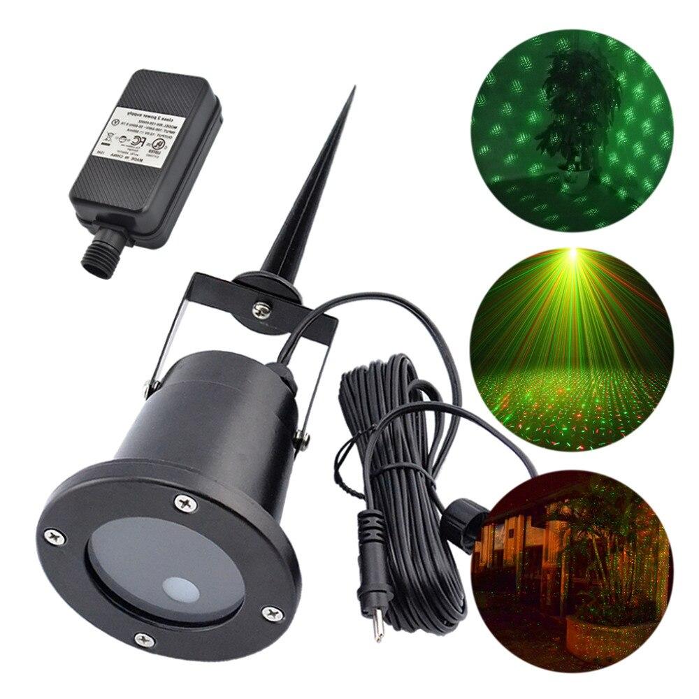 New Wall Lamp Outdoor Waterproof RG Projector Laser Lights Home ...