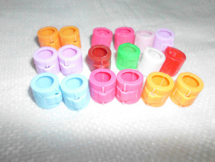 pigeon leg Rings/Bands for pigeons supplies - Plastic Clip rings 50pcs
