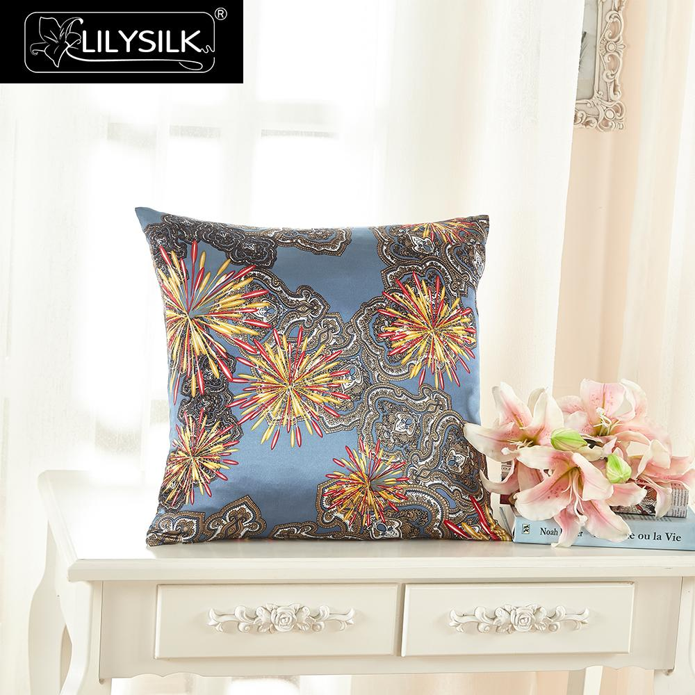 Lilysilk 100 Silk Pillow Cover 16 Momme Firework Pure