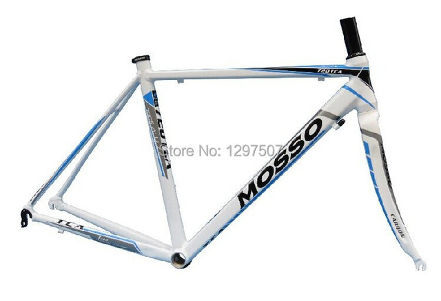 Cheap MOSSO tca 720 highway 2014 peak ultralight aluminum alloy frame send carbon fiber front fork road cycling parts accessories