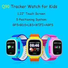 Lemado Q90 Smart Watch Phone GPS WIFI Positioning Children Watch 1.22 inch Touch Screen SOS SIM Card for Kids Safe Wristwatch