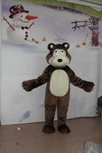 High quality Ursa Bruin bear Masha Grizzly costume mascot character animation free shipping