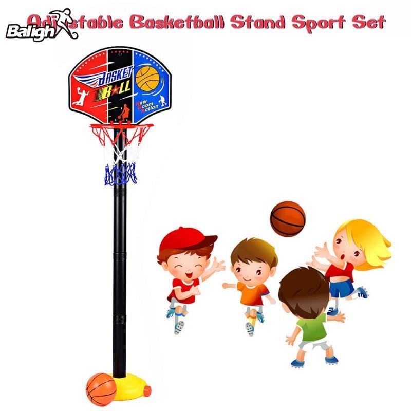 Adjustable Outdoor/Indoor Basketball Portable Basket Set Stress Relie Sports Toy