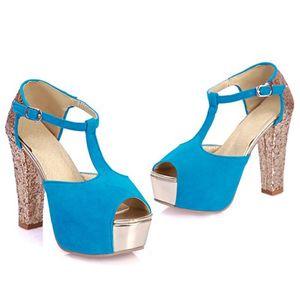 Image 3 - Limited New Gladiator Sandals Women Tenis Feminino Big Size 32  43 peep toe High Heels wedding party Shoes woman Pumps 171