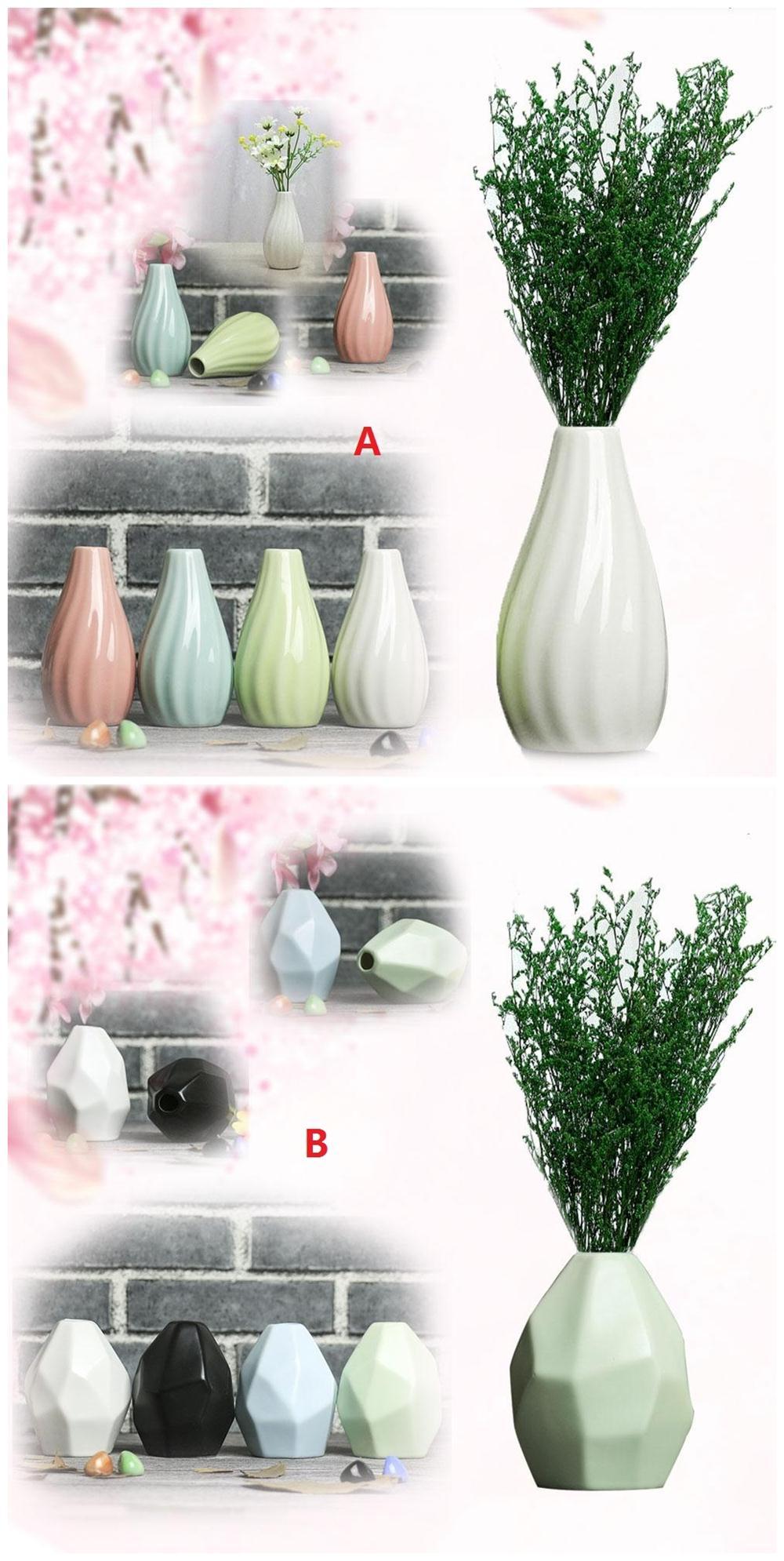 Цветочная ваза горшок для дома Цветочная композиция керамическая ваза в полоску классические свадебные офисные творческие украшения для дома Декор украшения