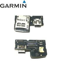 الأصلي PCB w البسيطة USB و مايكرو حامل للغارمين حافة 810 نوع 10 (810 بجولة) إصلاح استبدال شحن مجاني