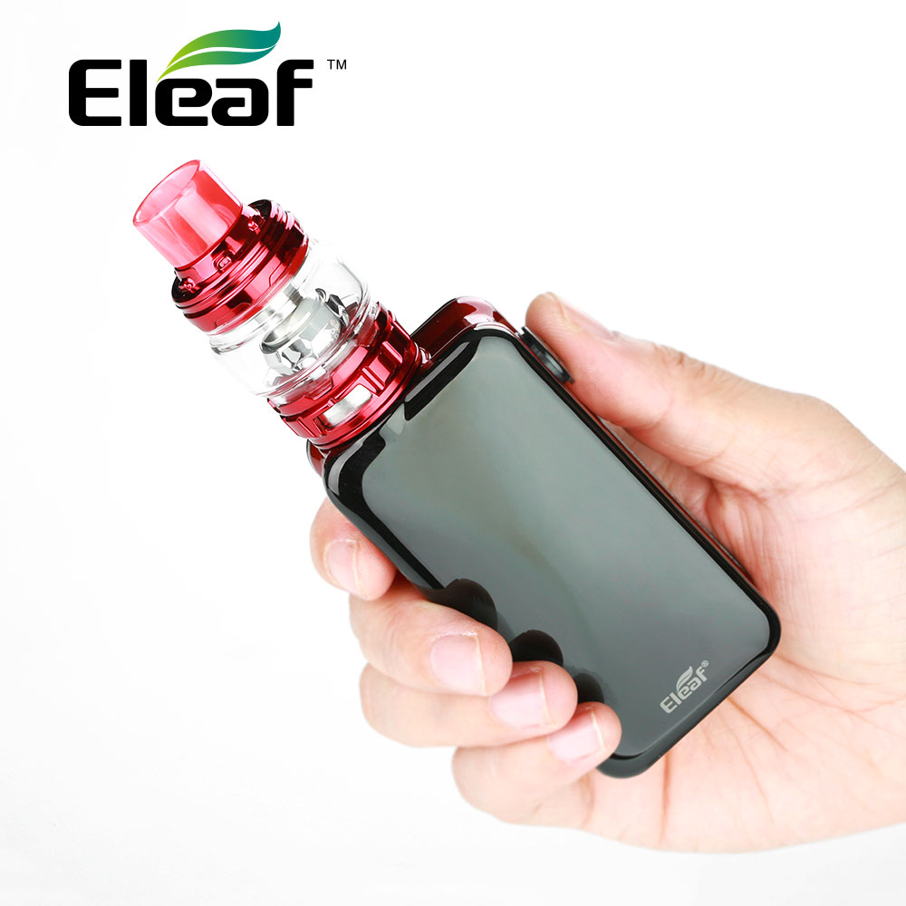 100% Original Eleaf iStick NOWOS avec ELLO Duro kit 6.5 ML avec 4400 mAh batterie HW-M/HW-N double tête charge plus rapide E-Cigarette