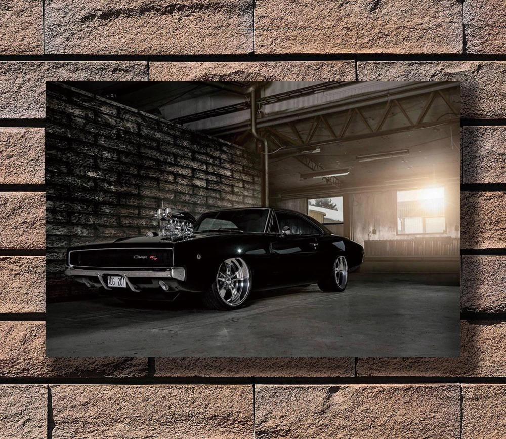 "2006 Dodge Charger Daytona RT Car Auto Art Silk Wall Poster 24x36/"""