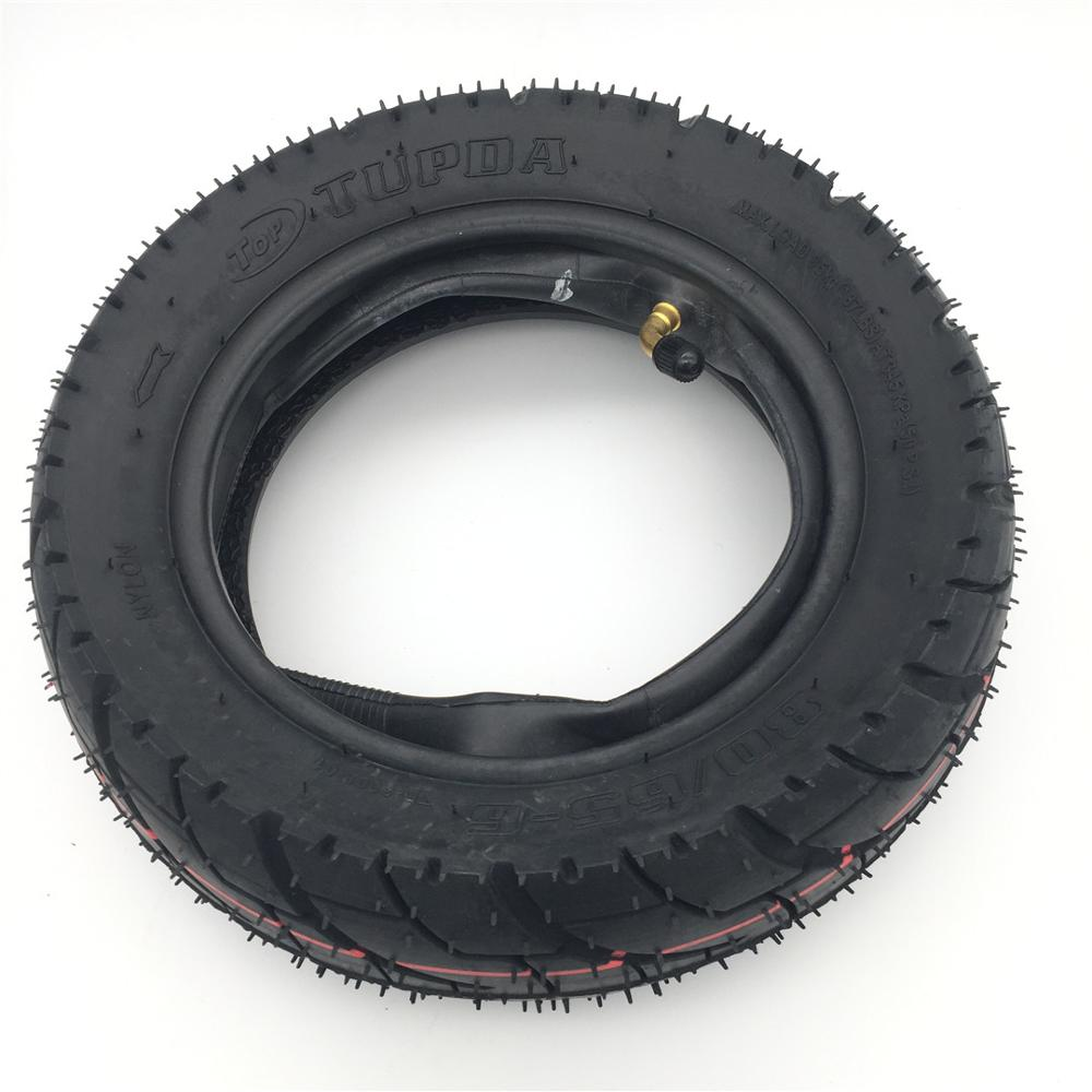 10 inch Pneumatic Tire for Electric Scooter Widened road type tire 10 3 0