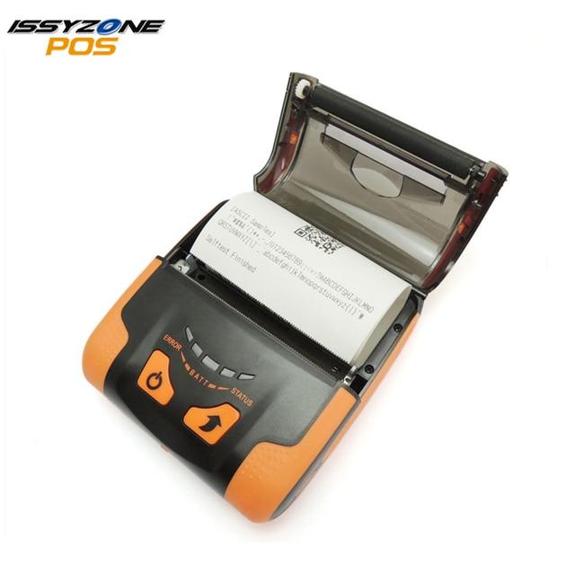 IssyzonePOS USB Bluetooth термопринтер WIFI Поддержка Аравия тайский печати 80 мм Pos веб PDF штрих-код мобильный мини-принтер IMP013