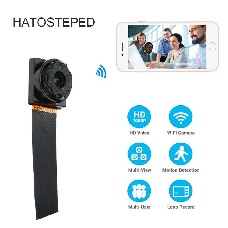 New 1080P Mini Wifi Wireless Camera HD 2MP wifi P2P 128G TF Card slot video Sound Recording Motion Detection Security Camera