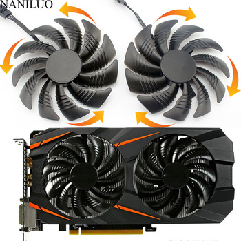 88MM PLD09210S12HH T129215SU 4Pin Cooler Fan For Gigabyte GeForce GTX1060 1070 GTX 1050ti GTX 960 RX570 RX470 Graphics Card 1