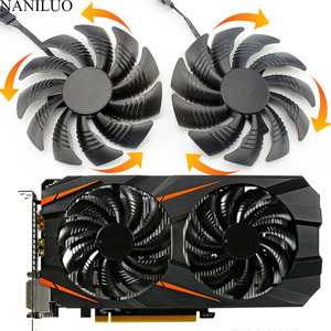 88MM PLD09210S12HH T129215SU 4Pin Cooler Fan For Gigabyte GeForce GTX1060 1070 GTX 1050ti GTX 960 RX570 RX470 Graphics Card(China)