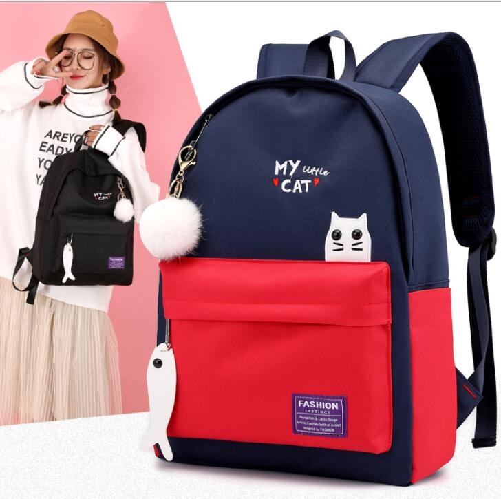 Orthopedic Backpacks Mochila Escolar School Schoolbags For Girls Primary School Book Bag for School Bags Backpack(China)