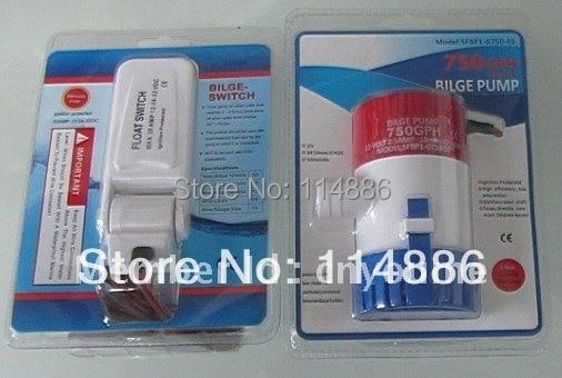 Singflo 12V 1100GPH bilge Pump Float switch