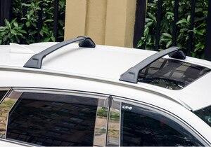 Image 4 - Engrossar barra transversal da cremalheira do telhado da barra transversal da bagagem para mazda CX 5 2017 2018 2019 2020, engrossar a liga de alumínio, recomended forte.