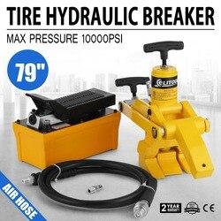 Cambiador de neumáticos hidráulico para camión Tractor de 5 portátil 10000psi/700bar