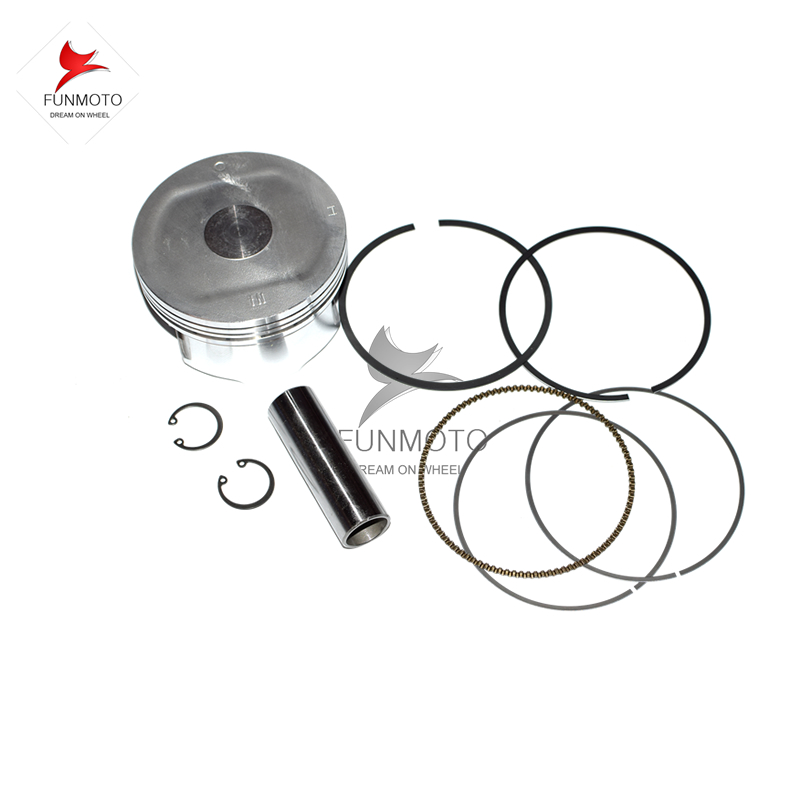 PISTON AND  PISTON PIN/ RINGS  AND CIRCLIP FOR CFMOTO Z6/Z6EX/600 PARTS NO. IS 0600-040004  piston piston pin piston rings circlip suit for hisun 700cc hs700 atv engine parts