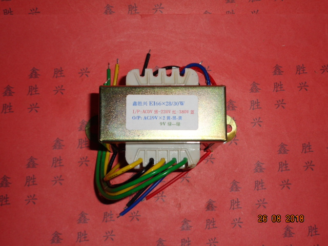 19V-0-19V  0.7A  8V   0.3A  Transformer  0-220V-380V  input  30VA   EI66*28  Welding machine inverter control transformer19V-0-19V  0.7A  8V   0.3A  Transformer  0-220V-380V  input  30VA   EI66*28  Welding machine inverter control transformer