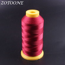 ZOTOONE Red Sewing Machine Thread Polyester Quilting DIY Accessories Supplies Embroidery Leather For Home E