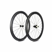 New 12K Carbon Road Wheels SuperLight Bicycle Carbon wheels U Shape Clincher Carbon Road Wheelsets 700*25c Wheels Top R51 Hubs