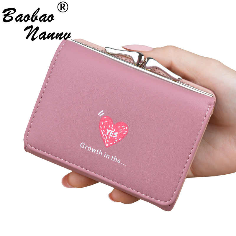 11baa154572f Ladies Purse Soft Leather Cute Mini Wallets New Women Wallet Small Clutch  Female Students Coin Bag Purses Card Holder Carteira