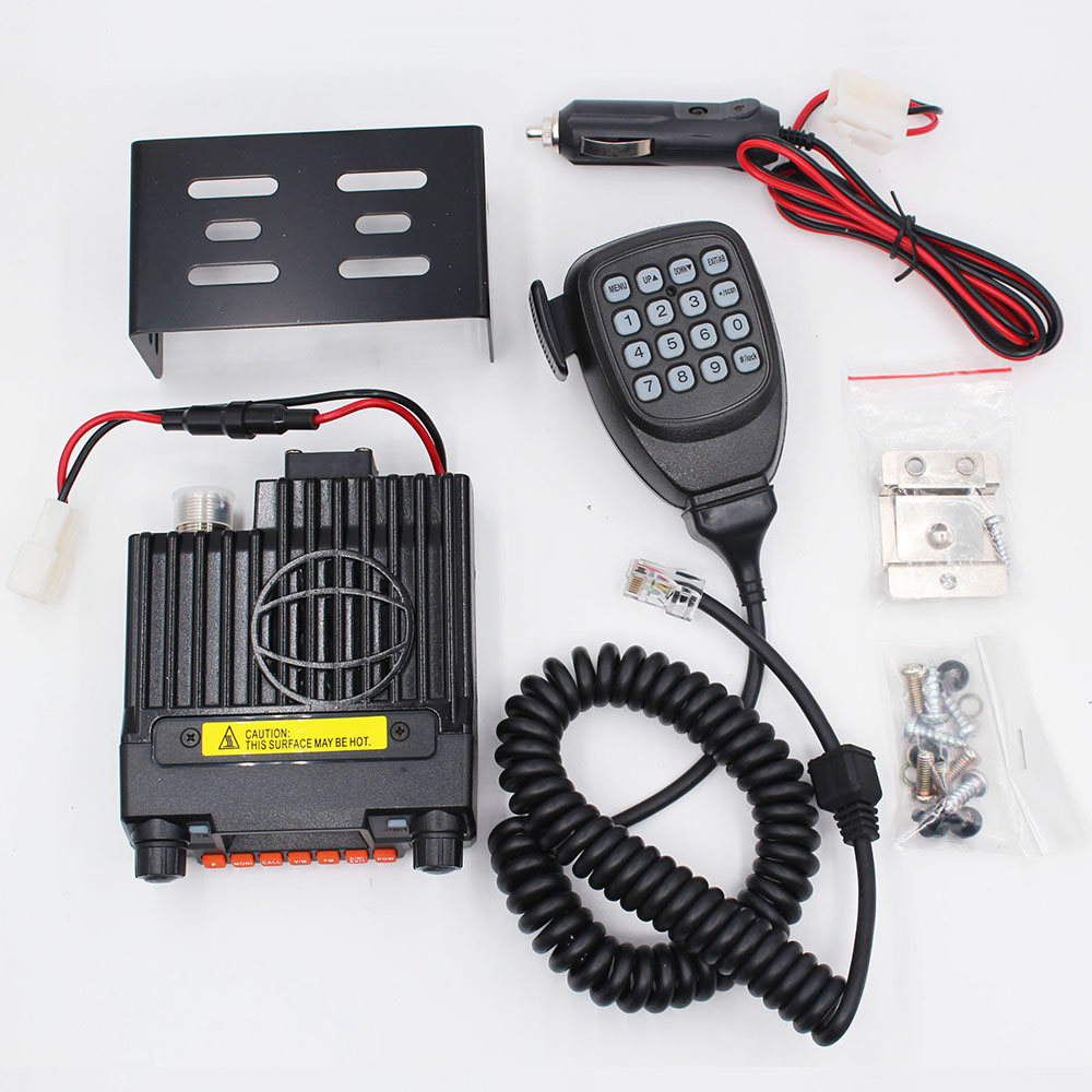 Mini-9800R 136/240/400 MHz 3 bandes Radio Mobile QYT KT-8900 BAOJIE BJ-218 25 W Mini autoradio UHF VHF véhicule Radio longue Distance