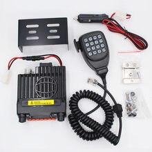 Mini-9800R 136/240/400mhz 3 bandas rádio móvel qyt KT-8900 baojie BJ-218 25w mini rádio do carro uhf vhf rádio do veículo de longa distância