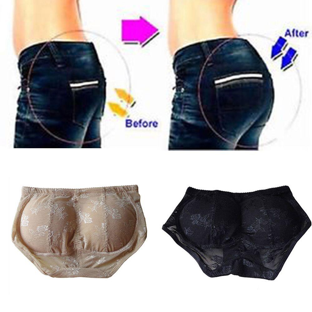Women Butt Enhancer Lift Shaper Booty Lifter Lace Underwear Briefs Pad Hip Up