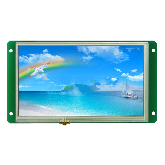 DMT80480M070_01WT, 7 inch Devon serial command screen touch screen 7lb070wq5td01 screen 7 inch che zaiping