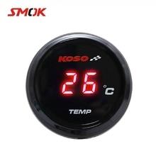 SMOK Universal Motorcycle Thermometer Instruments Water Temp Temperature Digital Display Gauge Meter For KOSO