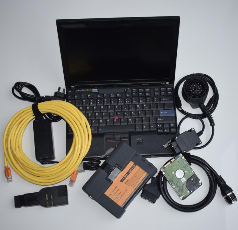 Vollen Satz Für Bmw Icom A2 Programmierung Diagnose Werkzeug + Software 2018 Experten Modus 500g Hdd + X201 I7 Laptop Ein Jahr Garantie