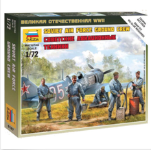 Assembly Zvezda 6187 1/72 World War II Soviet Ground Blocks Kits