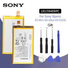 Sony Original Phone Battery LIS1594ERPC 2700mAh For SONY Xperia Z5C Z5 mini E5823 z5 compact Phone Batteries + Free Tools аккумулятор для телефона craftmann lis1594erpc для sony xperia z5 compact xa ultra e5823 e5803