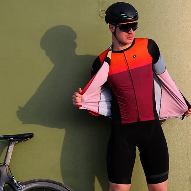 Casual Men Radtrikot /& Shorts Set//Kit Ciclismo Bike Racing Clothing
